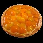 Abrikozen-crème vlaai
