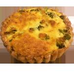 Quiche Broccoli-Zalm